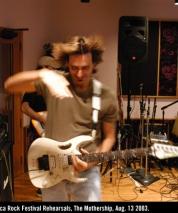 Lorca Rock Festival Rehearsals