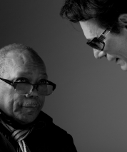 Steve & Quincy Jones at the 2012 Berklee Alumni